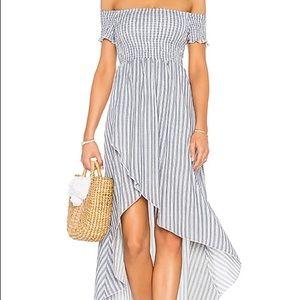 Show Me Your MuMu Willa Maxi Dress in Stripes